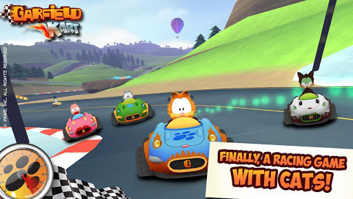 Garfield Kart For Android Free Download