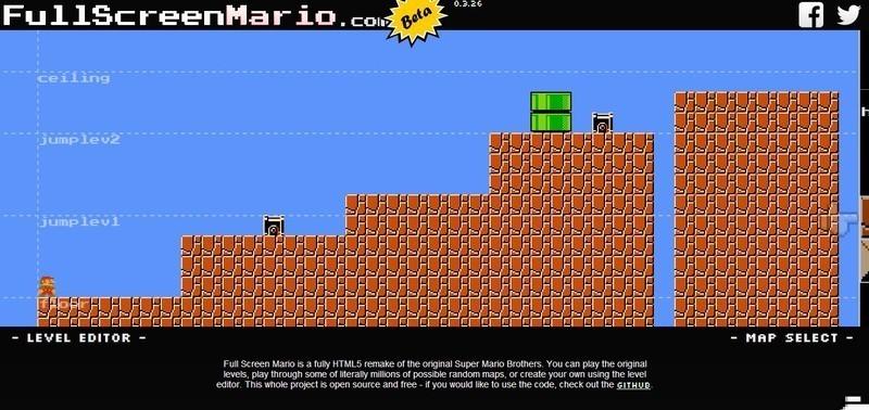 Full Screen Mario - Free Download