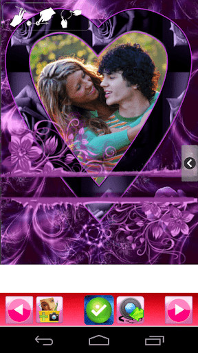 Romantic Photo Frames Of Love For Android Free Download