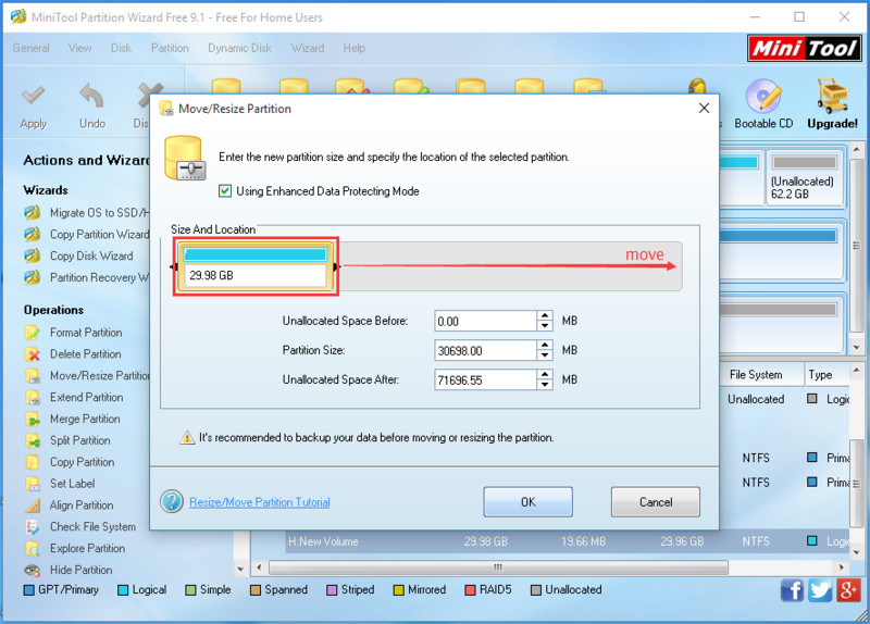 MiniTool Partition Wizard - Free Download