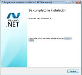Microsoft  NET Framework 4 Client Profile (web installer