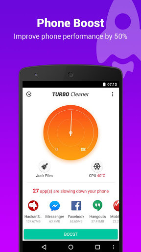 Turbo Cleaner \u2013 Speed booster for Android - Free Download