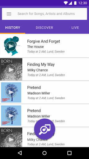 TrackID™ - Music Recognition for Android - Free Download