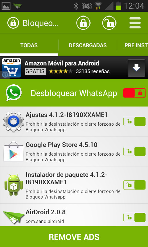 blockade whatsapp for android  free download
