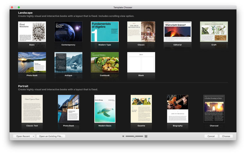 iBooks Author for Mac - Free Download