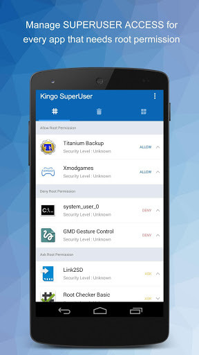 download superuser access for android