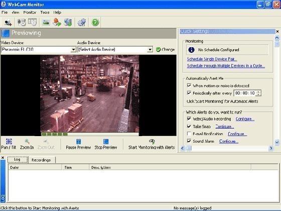 webcam surveyor-setup