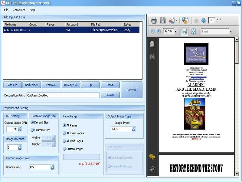PDF To TIFF - Descargar Gratis