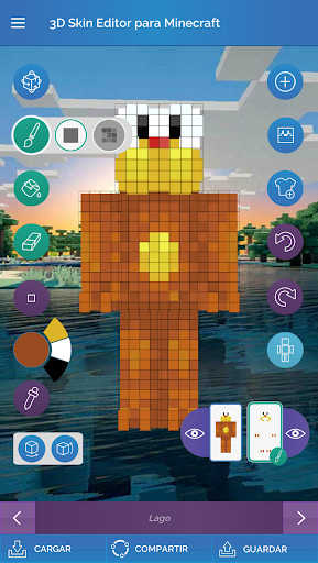 Skin Editor Para Minecraft Para Android Descargar Gratis - Skin para minecraft android y pc