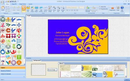 eximioussoft business card designer descargar gratis