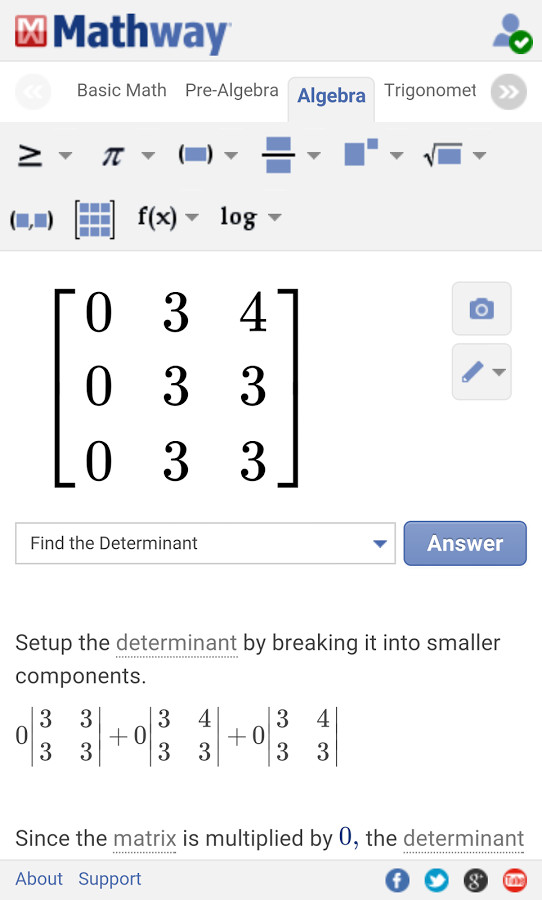 Mathway para Android - Descargar Gratis on