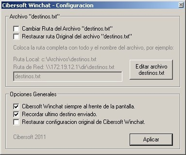 winchat windows 7
