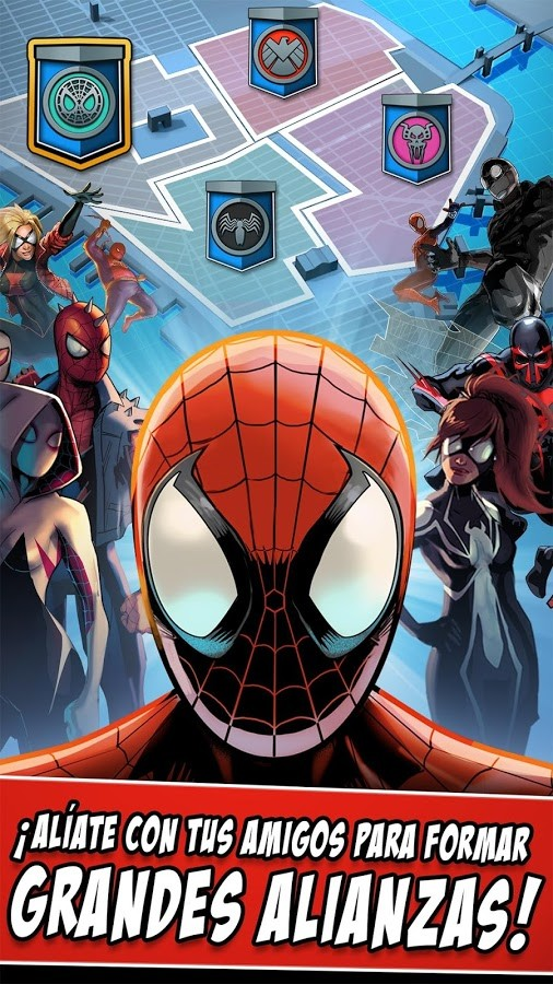 SpiderMan Unlimited para Android  Descargar Gratis
