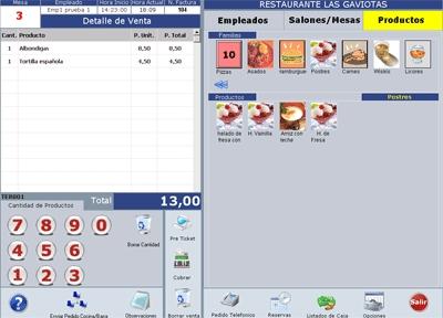 Tpv comida rapida fast food opiniones precios y demo for Programa de cocinas gratis