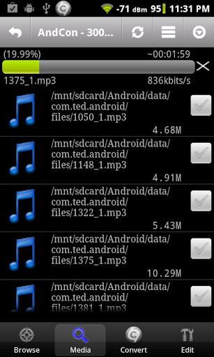 como descargar editor de musica para android