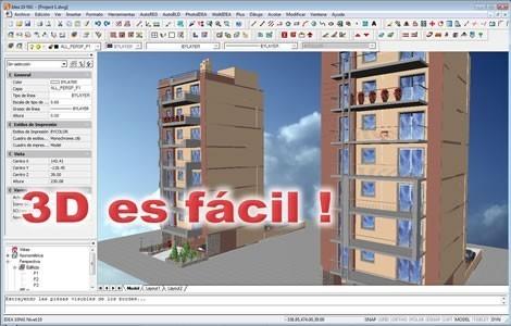 Programas de diseos de casas en 3d gratis plano d de casa for Programa para crear casas en 3d