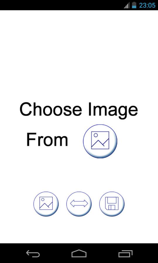 Efecto espejo para los cuadros para Android - Descargar Gratis