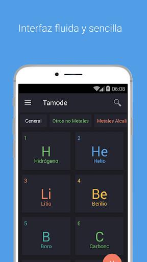 Tabla peridica tamode para android descargar gratis imagen 1 de tabla peridica tamode para android urtaz Gallery