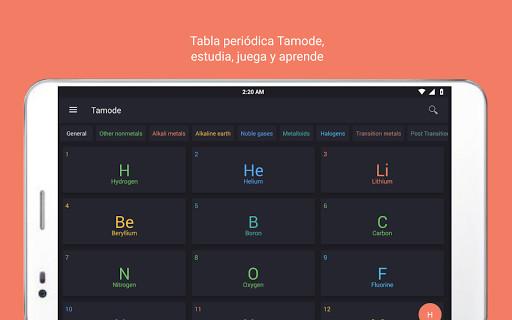 Tabla peridica tamode para android descargar gratis imagen 9 de tabla peridica tamode para android urtaz Image collections