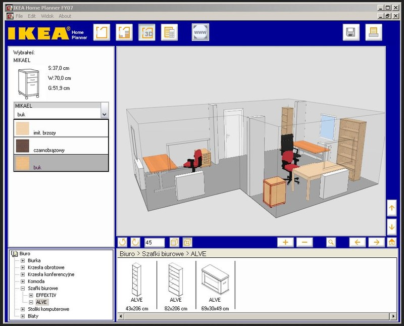 Ikea home planner office descargar gratis for Progettare casa software