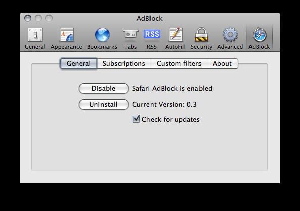 Safari AdBlock para Mac - Descargar Gratis
