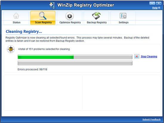 WinZip Registry Optimizer - Descargar Gratis