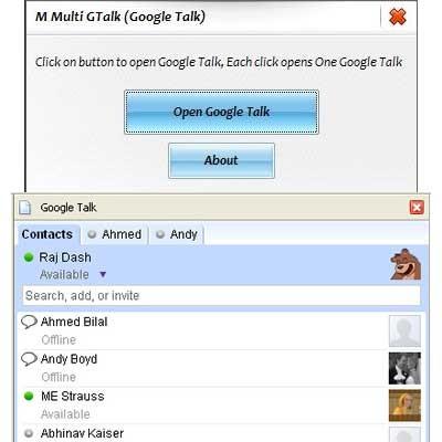 M Multi Google Talk