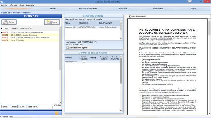Registro Documental Opiniones Precios Y Demo