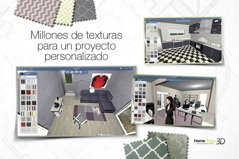 Home design 3d freemium para android descargar gratis for App para diseno de interiores
