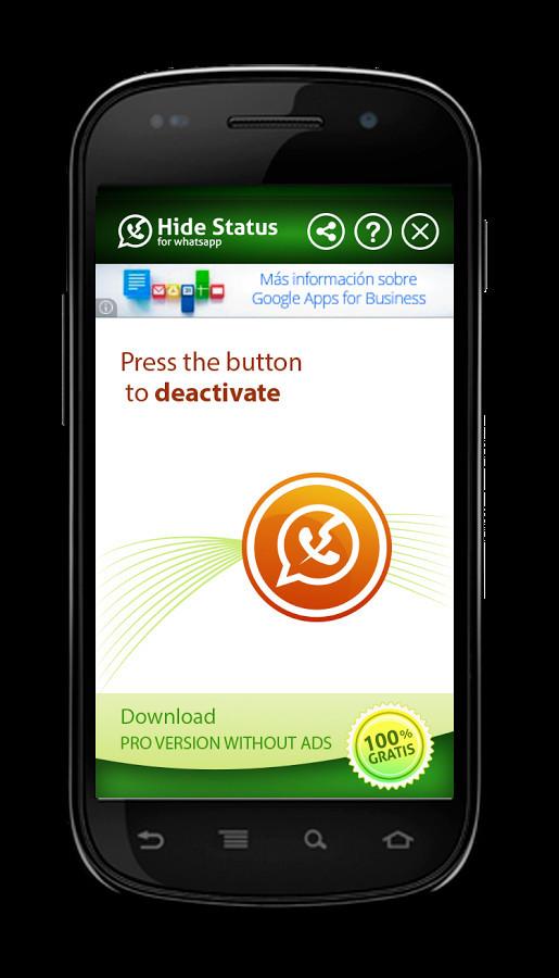 Hide Whatsapp Status Para Android Descargar Gratis
