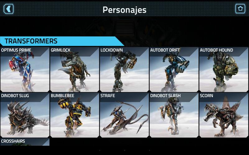 Transformers Age Of Extinction Para Android Descargar Gratis