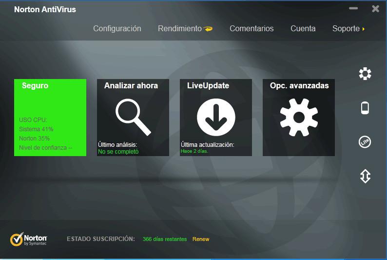 bajar norton antivirus gratis en espanol para windows 7