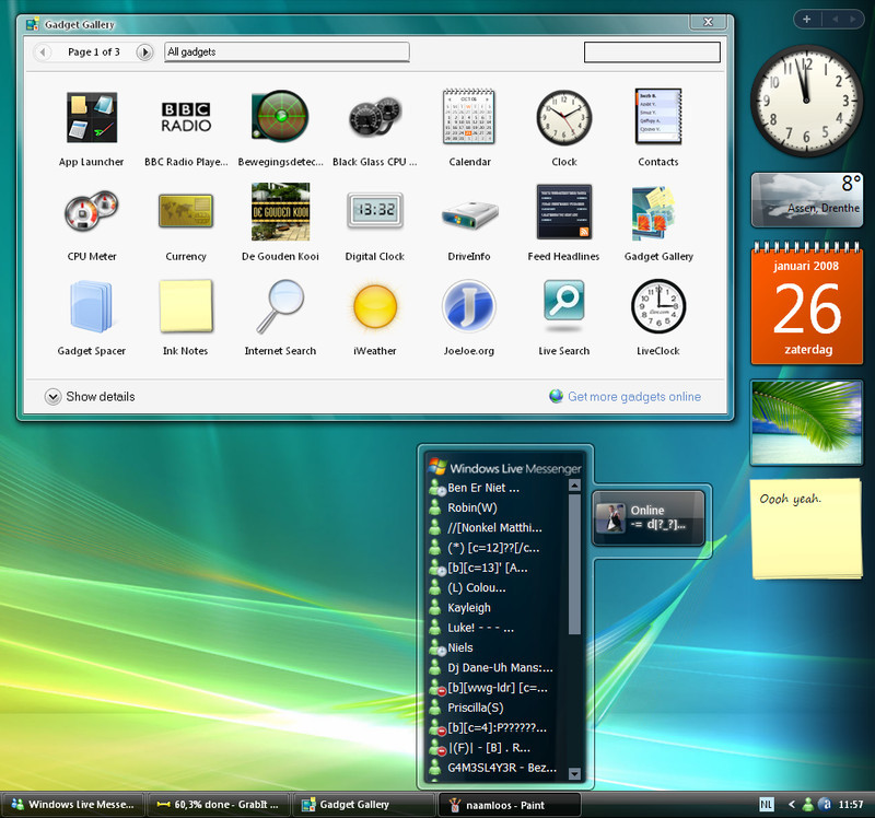 descargar barra lateral para windows xp gratis