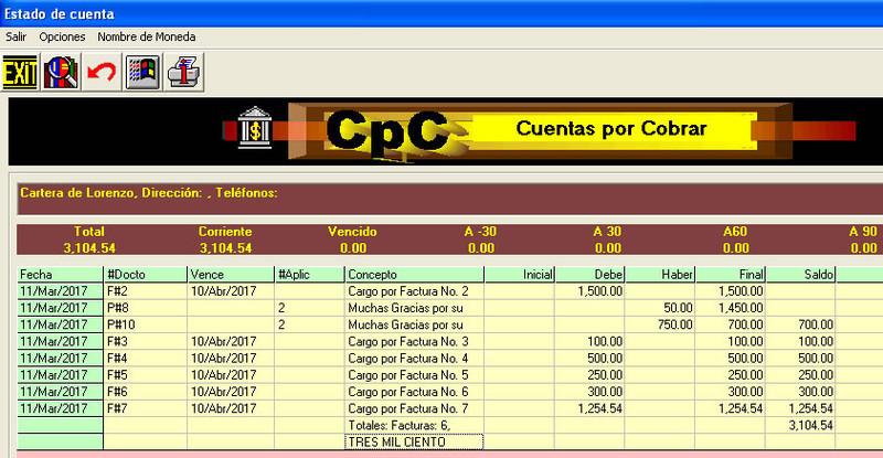CpC Cuentas por Cobrar y Pagar - Opiniones, precios y demo