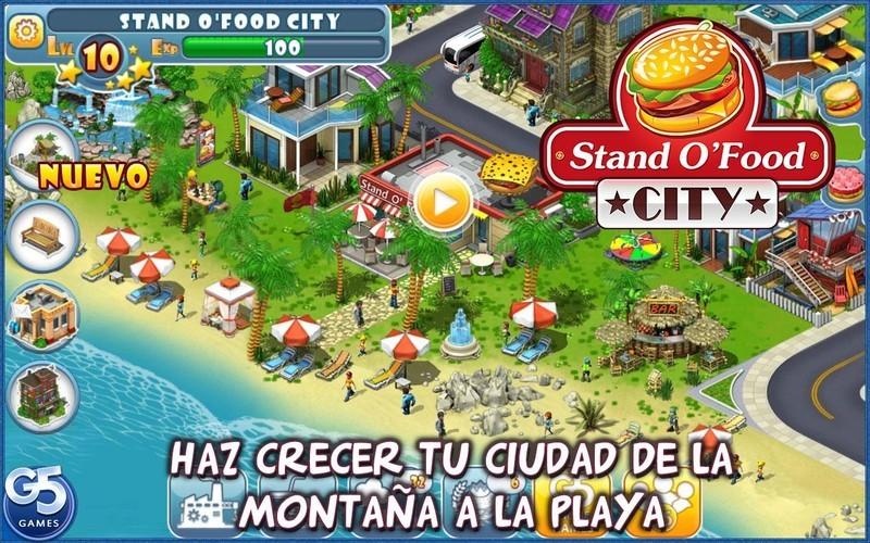 Stand O Food City Virtual Frenzy Para Android Descargar Gratis