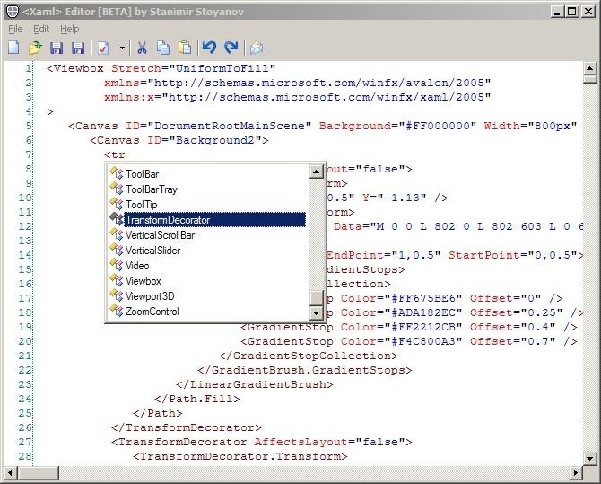 descarga xml copy editor
