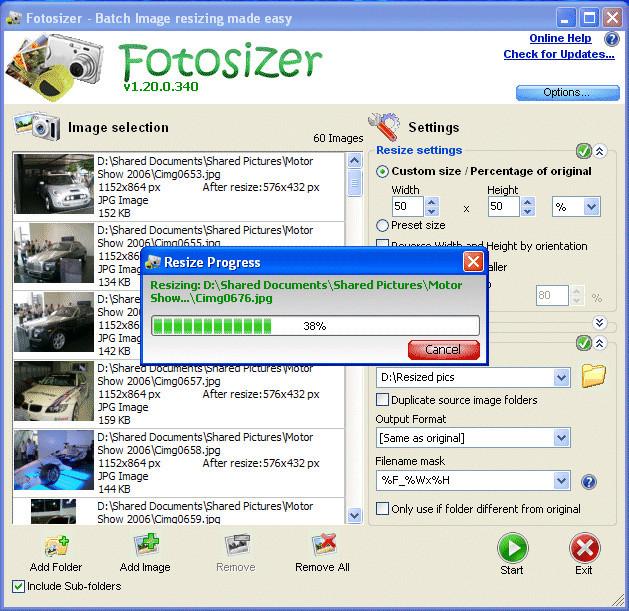 fotosizer sin virus