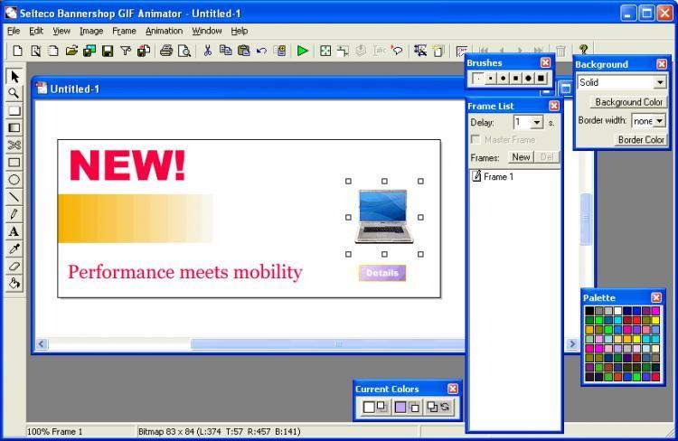 Download bannershop gif animator free.