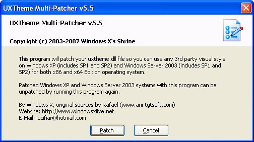 MULTI-PATCHER BAIXAR WINDOWS 7 UXTHEME