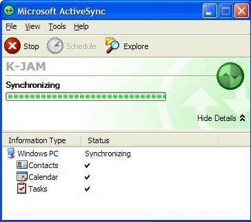 microsoft activesync windows 7