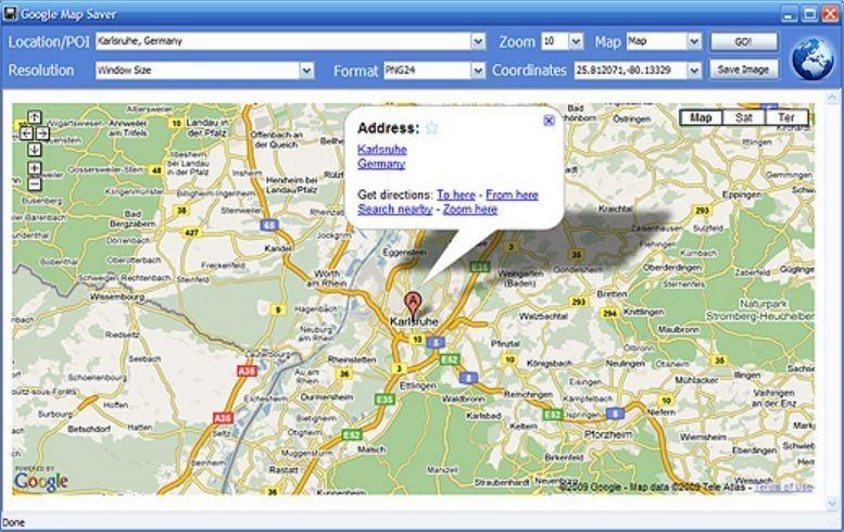 Google map saver descargar gratis imagen 2 de google map saver gumiabroncs Images