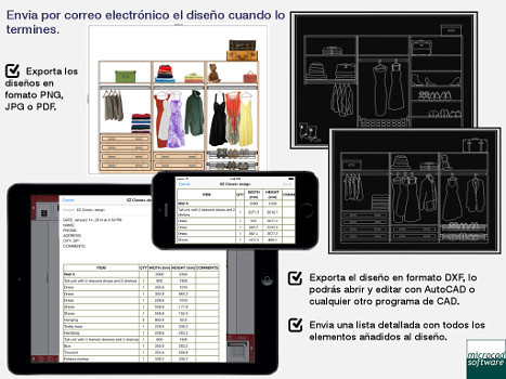 Ez closet dise o de armarios para android descargar gratis for App para diseno de interiores