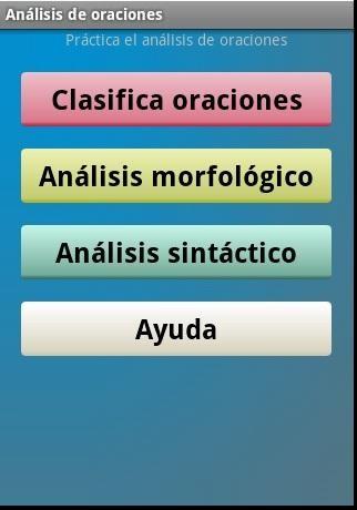 Análisis De Oraciones Para Android Descargar Gratis