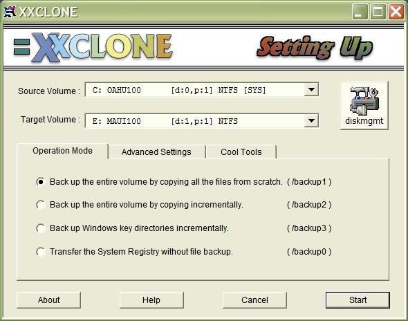 xxclone para windows xp