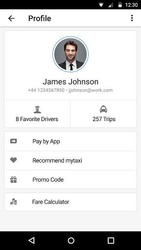 mytaxi - La Taxi App para Android - Descargar Gratis
