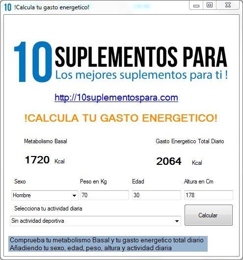 Calculadora Metabolica