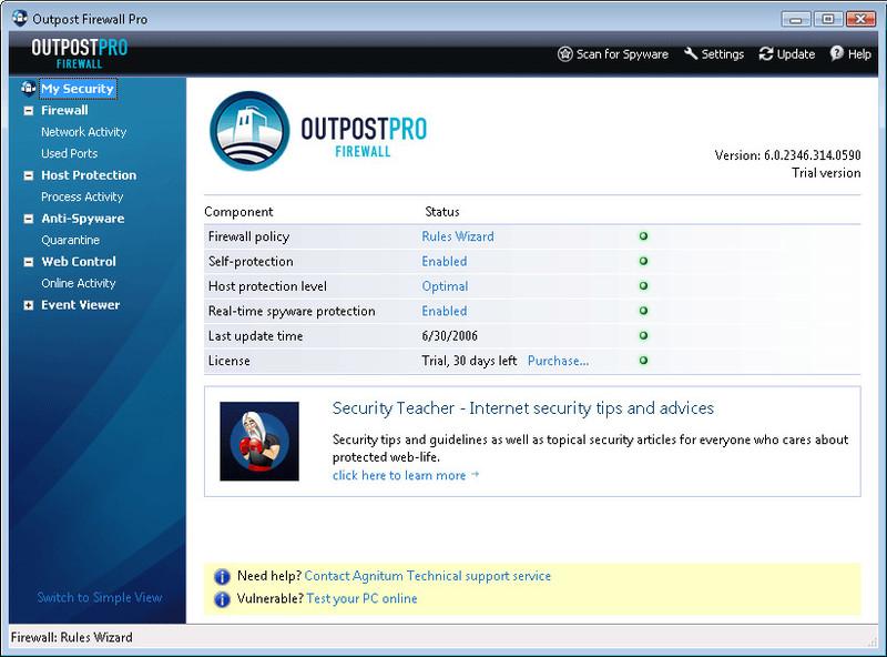 Resultado de imagen para Outpost Firewall