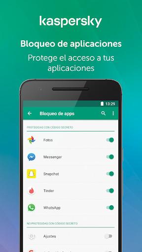 descargar antivirus kaspersky gratis para celular