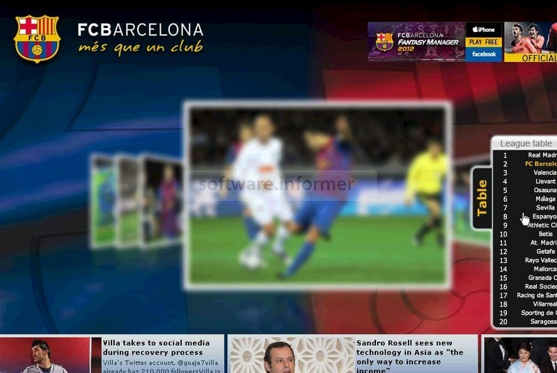 fc barcelona isaver