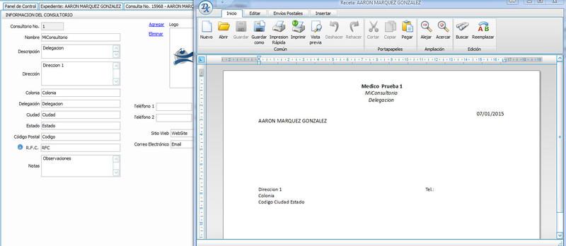 software m u00e9dico consultorio virtual